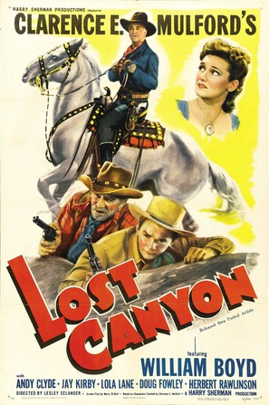 Lost Canyon - Movie Poster (thumbnail)