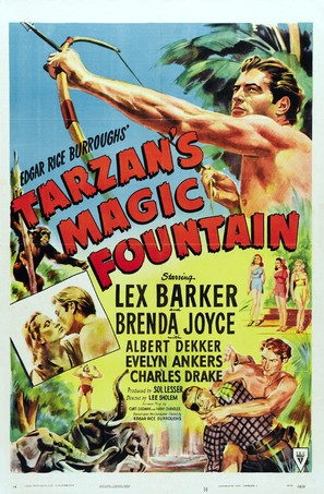 Tarzan's Magic Fountain - Movie Poster (thumbnail)