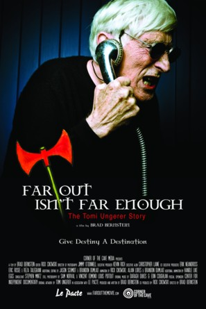 Far Out Isn't Far Enough: The Tomi Ungerer Story - Movie Poster (thumbnail)