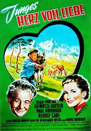 Junges Herz voll Liebe - German Movie Poster (thumbnail)