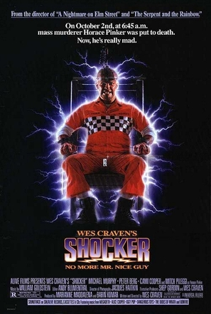 Shocker - Video release movie poster (thumbnail)