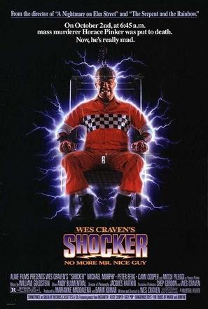 Shocker - Video release poster (thumbnail)