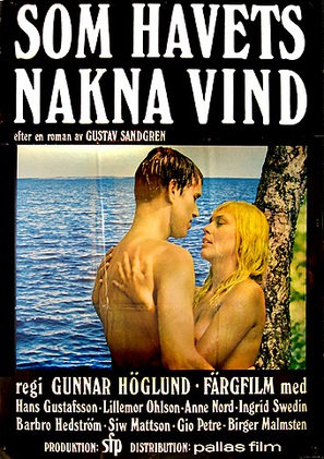 ...som havets nakna vind - Swedish Movie Poster (thumbnail)