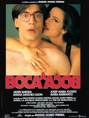 Boca a boca - Spanish Movie Poster (thumbnail)