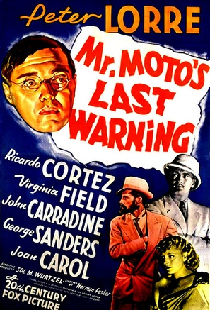 Mr. Moto's Last Warning - Movie Poster (thumbnail)