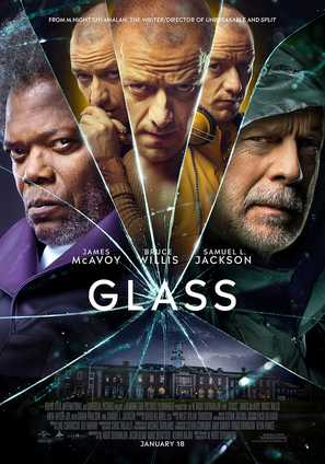 Glass - International Movie Poster (thumbnail)