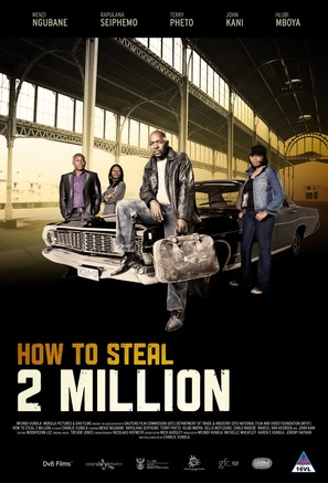 How to Steal 2 Million - South African Movie Poster (thumbnail)