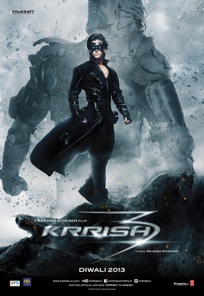 Krrish 3 - Indian Movie Poster (thumbnail)