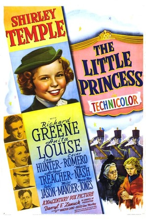 The Little Princess - Movie Poster (thumbnail)