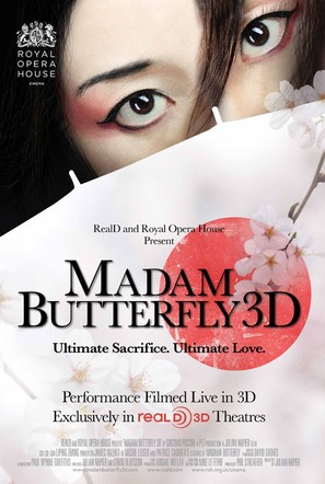 Madam Butterfly 3D - British Movie Poster (thumbnail)