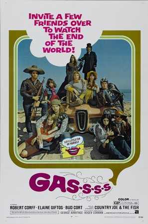 Gas! -Or- It Became Necessary to Destroy the World in Order to Save It. - Movie Poster (thumbnail)