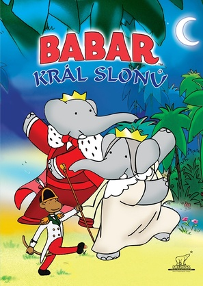Babar: King of the Elephants - Czech DVD cover (thumbnail)