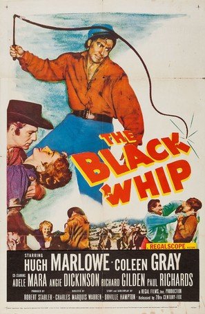 The Black Whip - Movie Poster (thumbnail)
