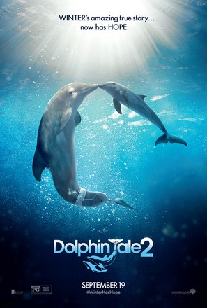 Dolphin Tale 2 - Movie Poster (thumbnail)