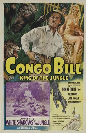 Congo Bill - Movie Poster (thumbnail)