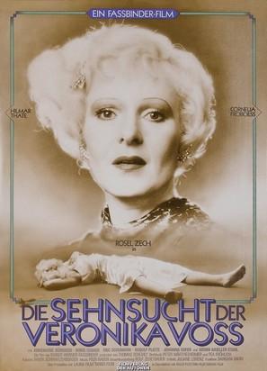 Die Sehnsucht der Veronika Voss - German Movie Poster (thumbnail)