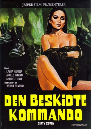 La belva dalle calda pelle - Danish Movie Poster (thumbnail)