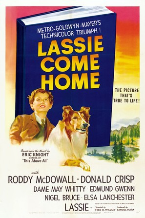 Lassie Come Home - Movie Poster (thumbnail)