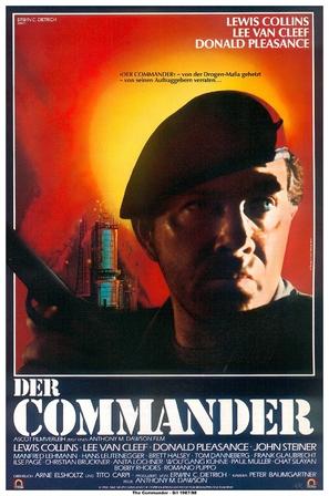 Der Commander - German Movie Poster (thumbnail)