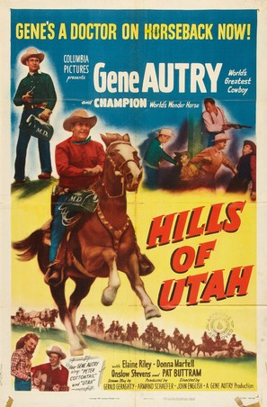 The Hills of Utah - Movie Poster (thumbnail)