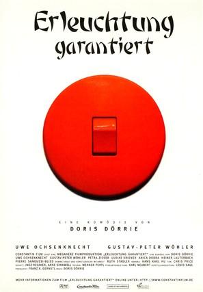 Erleuchtung garantiert - German Movie Poster (thumbnail)