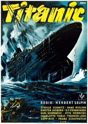 Titanic - German Movie Poster (thumbnail)