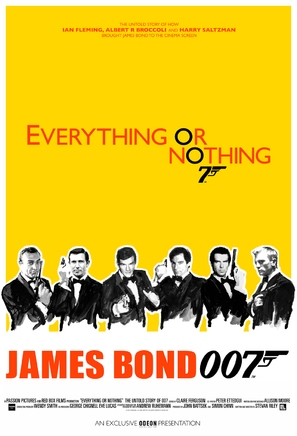 Everything or Nothing: The Untold Story of 007 - British Movie Poster (thumbnail)