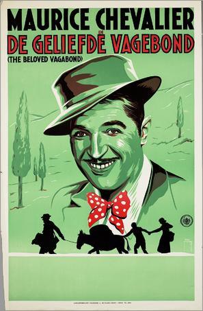 The Beloved Vagabond - Dutch Movie Poster (thumbnail)