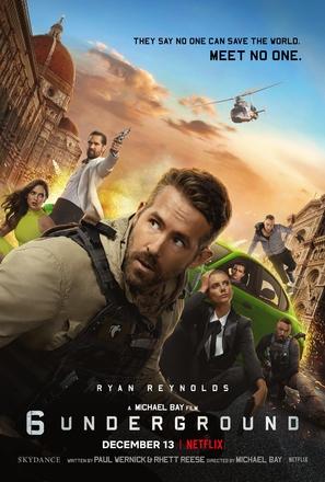 6 Underground - Movie Poster (thumbnail)
