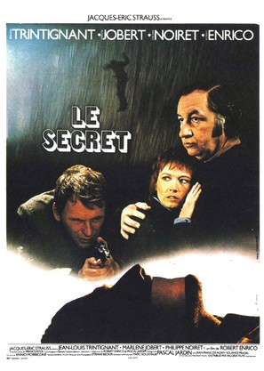 Le secret - French Movie Poster (thumbnail)