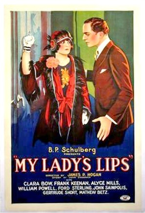 My Lady's Lips - Movie Poster (thumbnail)
