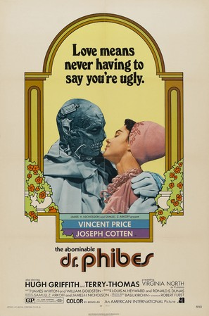 The Abominable Dr. Phibes - Theatrical movie poster (thumbnail)