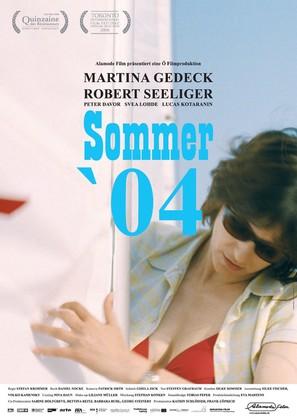 Sommer '04 - German Movie Poster (thumbnail)