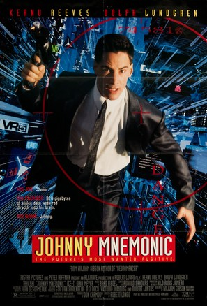 Johnny Mnemonic - Movie Poster (thumbnail)