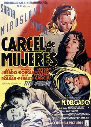 Cárcel de mujeres - Mexican Movie Poster (thumbnail)