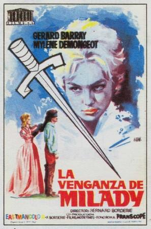 Les trois mousquetaires: Tome II - La vengeance de Milady - Spanish Movie Poster (thumbnail)