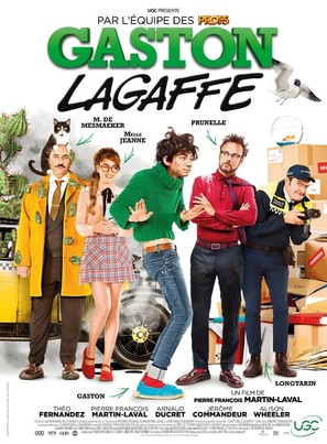 Gaston Lagaffe (2018) French movie poster