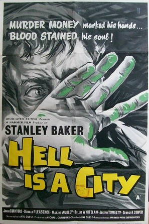 Hell Is a City - British Movie Poster (thumbnail)