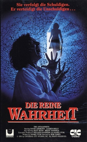 """""""The Antagonists"""" - German VHS movie cover (thumbnail)"""