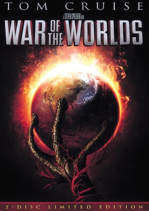 War of the Worlds - DVD movie cover (thumbnail)