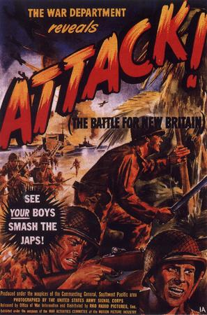 Attack! Battle of New Britain - Movie Poster (thumbnail)