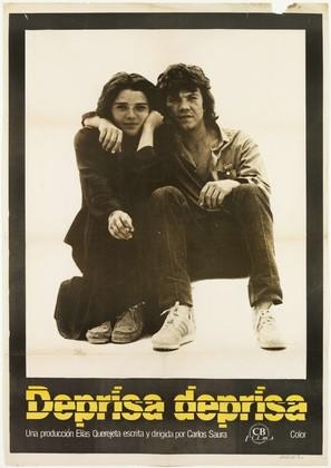 Deprisa, deprisa - Spanish Movie Poster (thumbnail)