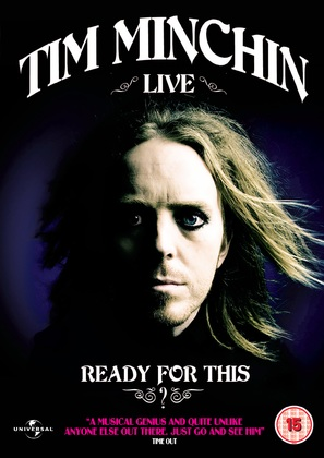 Tim Minchin: Ready for This? Live - Movie Poster (thumbnail)