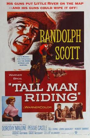 Tall Man Riding - Movie Poster (thumbnail)