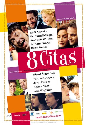8cho citas - Spanish Movie Poster (thumbnail)
