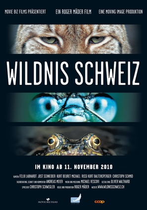 Wildnis Schweiz - Swiss Movie Poster (thumbnail)
