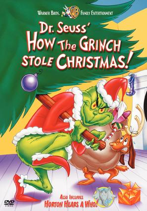 How the Grinch Stole Christmas! - DVD movie cover (thumbnail)