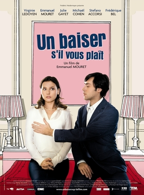 Un baiser s'il vous plaît - French Movie Poster (thumbnail)
