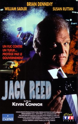 Jack Reed: Badge of Honor - French VHS movie cover (thumbnail)