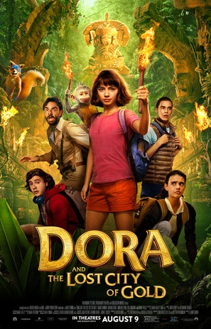 Dora and the Lost City of Gold - Movie Poster (thumbnail)